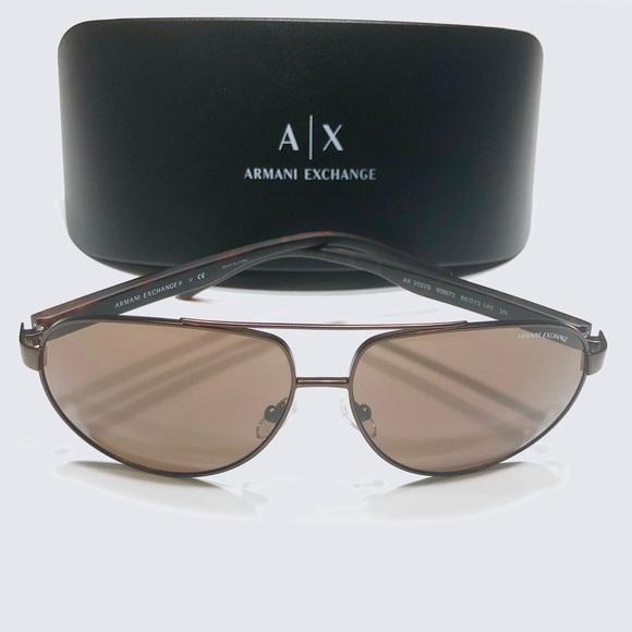 d45e785341 Armani Exchange AX Men s Pilot Aviator Sunglasses
